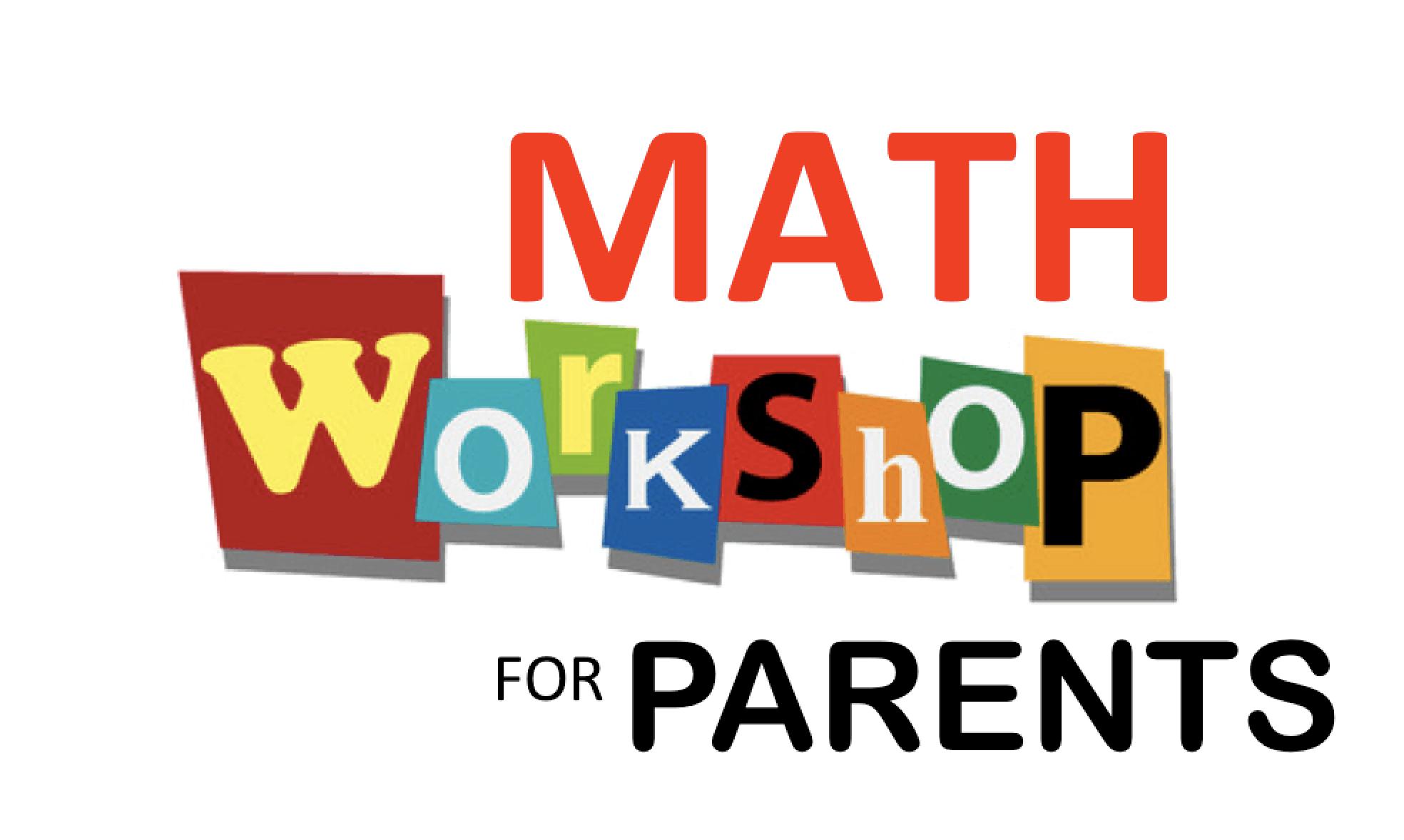 Image result for Maths Parent Workshops